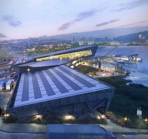 Ijede Ferry Terminal is a futuristic infrastructure designed for Lagos. The project has received numerous awards both within and outside the country.