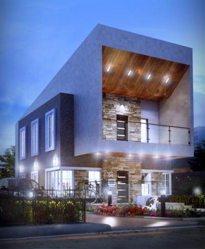 Prolific-Duplex-Residential-Designs-Estate-Cleec-Designs-Okolie-Uchechukwu-Yaba